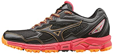 new concept 28e4b 5bce3 Mizuno Wave Daichi 2 (w), Chaussures de Running Compétition Femme, Noir  Black
