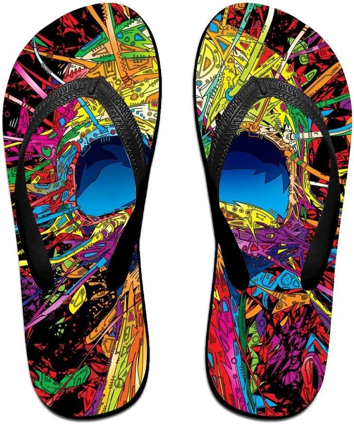 LXP FZD Unisex Beach Flip Flops Comfortable Summer Non-Slip Thongs Slippers Sandals