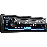 JVC KD-X451DBT Digital Media-Receiver mit Bluetooth-Freisprechfunktion und Digitalradio DAB+ schwarz