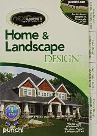 Amazon Com Home Landscape Design With Nexgen Technology V3 Software