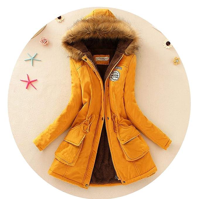 Amazon.com: Chaqueta de invierno y abrigos de moda cordero ...