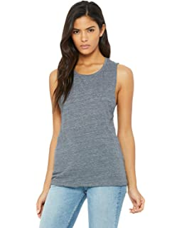 e2f5ce15efe0b Bella Ladies Flowy Racerback Tank at Amazon Women s Clothing store