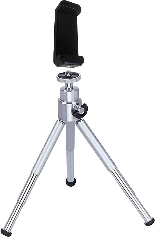 Eurosell Mini trípode para Smartphone/iPhone – Metal – 15 cm – Cabezal de bola – Vídeo/Foto: Amazon.es: Hogar