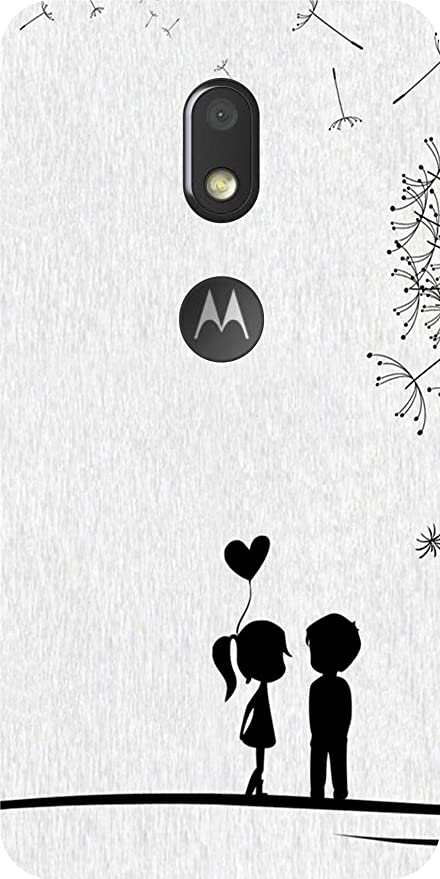 bb38b4f4a Shengshou Love Animated Couple Design Mobile Back Cover: Amazon.in:  Electronics