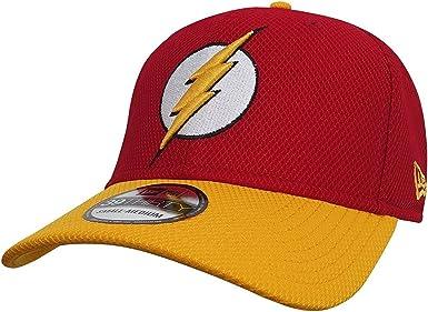 DC Comics Insignia de destello rojo y amarillo 39THIRTY gorra de ...