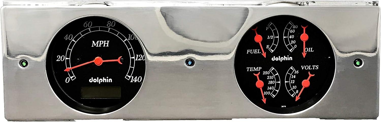 1946 1947 1948  1949 Plymouth  2 Hole Dash Panel Insert