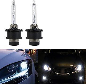 2X HID Xenon Headlight Light Bulbs Low Beam 6000K Light Bulbs D2R
