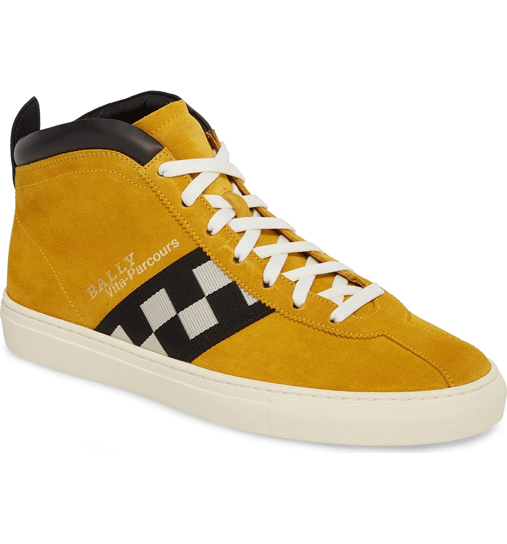 [バリー] メンズ スニーカー Bally Vita Checkered High Top Sneaker (M [並行輸入品] B07DTGZVMQ