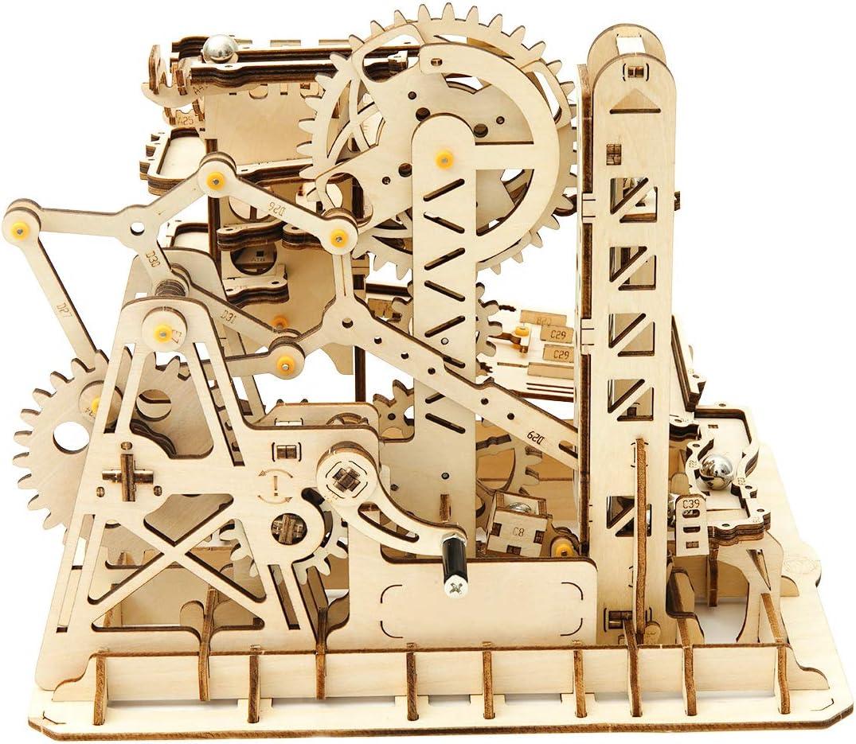 Die besten Geschenkideen für Architekten: Die besten Geschenkideen für Architekten: Mechanisches Kugelspiel als 3D Puzzle aus Holz