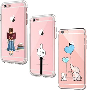 Oihxse [3 Pack Funda Compatible con iPhone 6/iPhone 6S Ultra ...