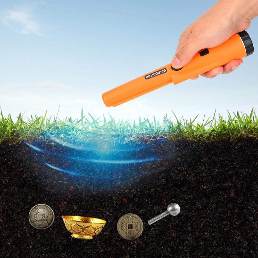 Metales Verde Plata Detector de Metales de Alta Precisi/ón Detector de Oro Pinpointer con Funci/ón de Indicaci/ón de Bajo Voltaje para Detectar Tesoros Detector de Metales Para Adultos/&Ni/ños
