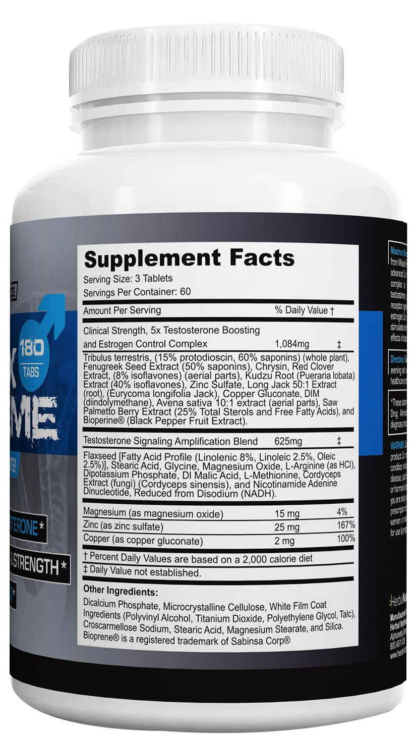 T5X Extreme Testosterone Booster for Muscle Growth Libido Enhancement Multi-Ingredient Formula, Tribulus, Fenugreek More 2 Bottle Pack, 360 Tablets 2nd Messenger Set, 5x Optimizing Complex