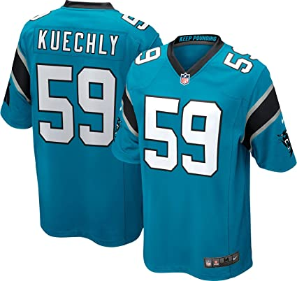 factory authentic 81e6e 1b0ba Nike NFL Carolina Panthers Luke Kuechly Jersey - Blue
