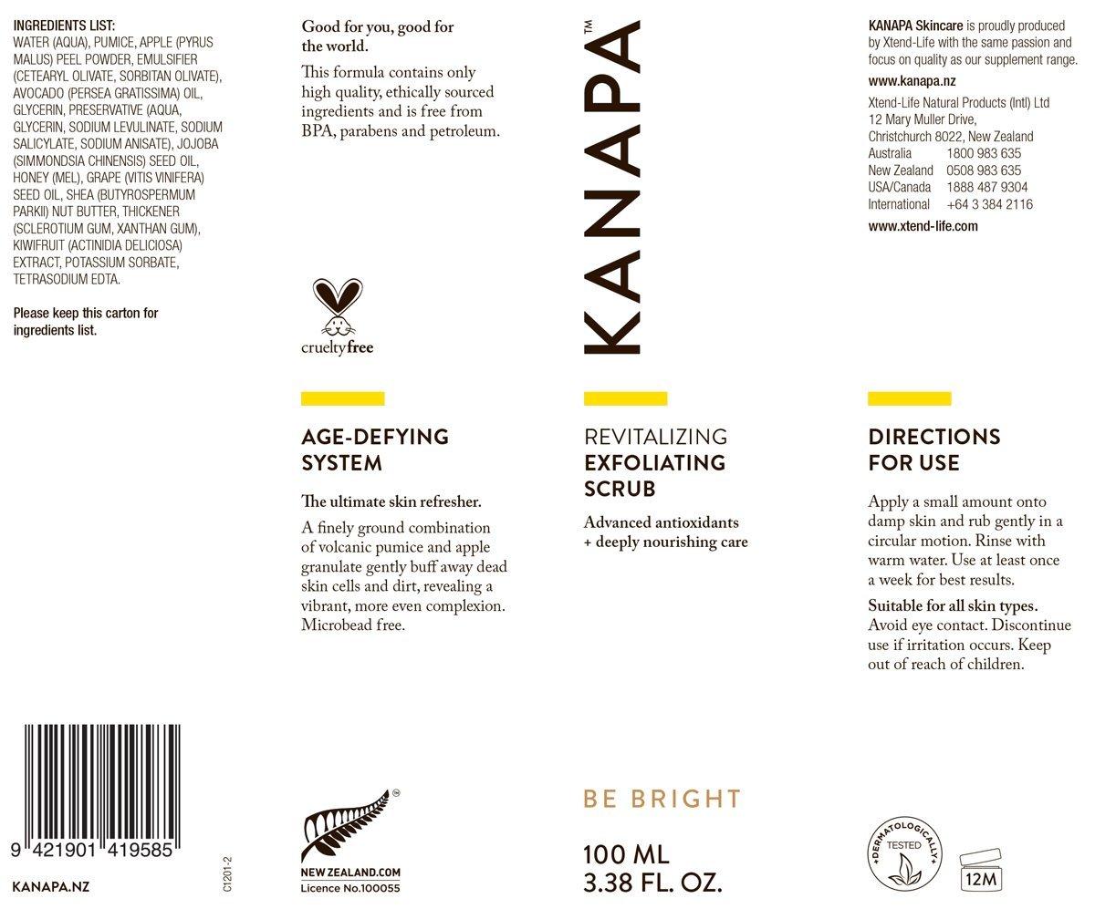 Kanapa by xtendlife Revitalización Exfoliante Scrub para ...