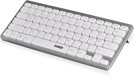 Donzo – Teclados Bluetooth dispositivo espezi pescado weiß Windows Layout