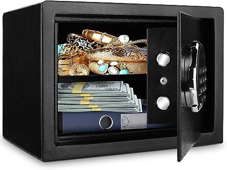BATHWA - Caja fuerte con cerradura de combinación electrónica y ...