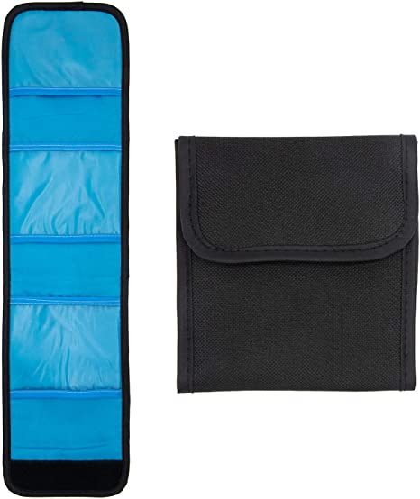 Ruberg - Bolsillo espejo Bolsa de Filtro Bolsillos Funda Porta Filtros Bolsillos con tres bolsillos para filtros CPL UV ND FLD de hasta 82 mm: Amazon.es: Electrónica