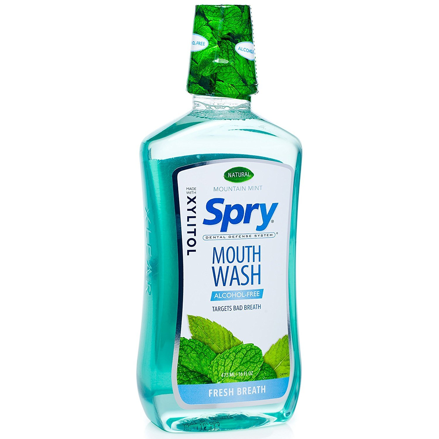 Spry Alcohol-Free Xylitol Mouthwash, Natural Island Grape, Anti-Plaque - 16 fl oz Xlear