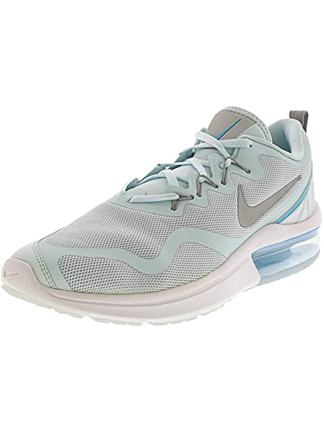 5497b8acbf2d9 Nike Women's's WMNS Air Max Fury Fitness Shoes Multicolour (Glacier  Blue/Metallic Silver/