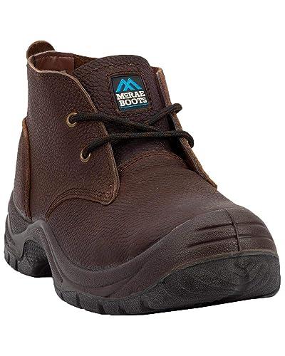74fb7cb9e04 Amazon.com | McRae Industrial Men's Safety Chukka Work Shoes Steel ...