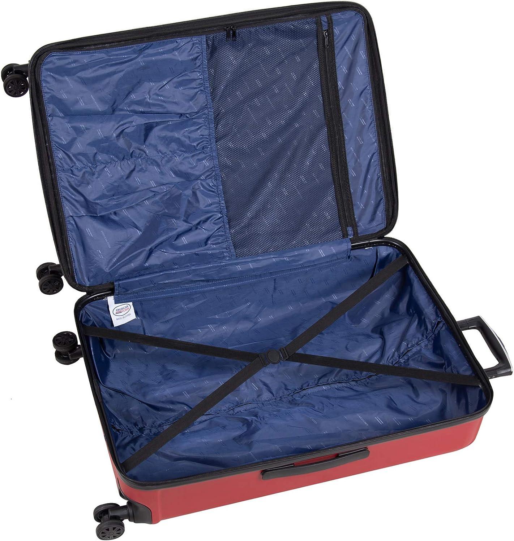 Moraga 22 8-Wheel Hardside Spinner American Flyer Unisex-Adult Luggage only