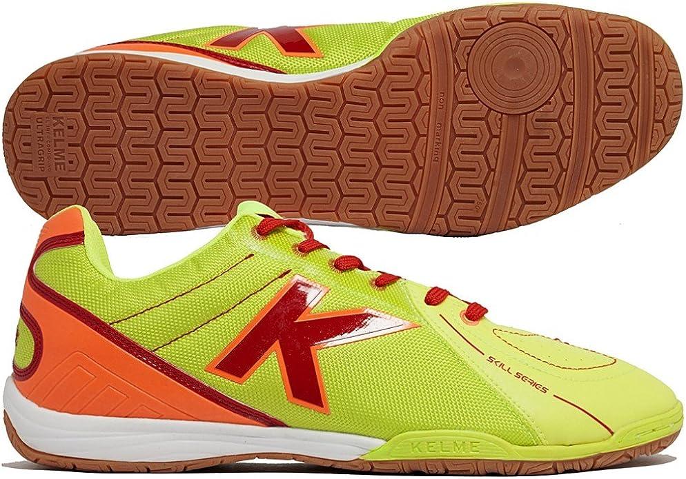 Kelme Zapatilla Sense Grip Lima-Rojo Talla 11,5 USA: Amazon.es: Zapatos y complementos