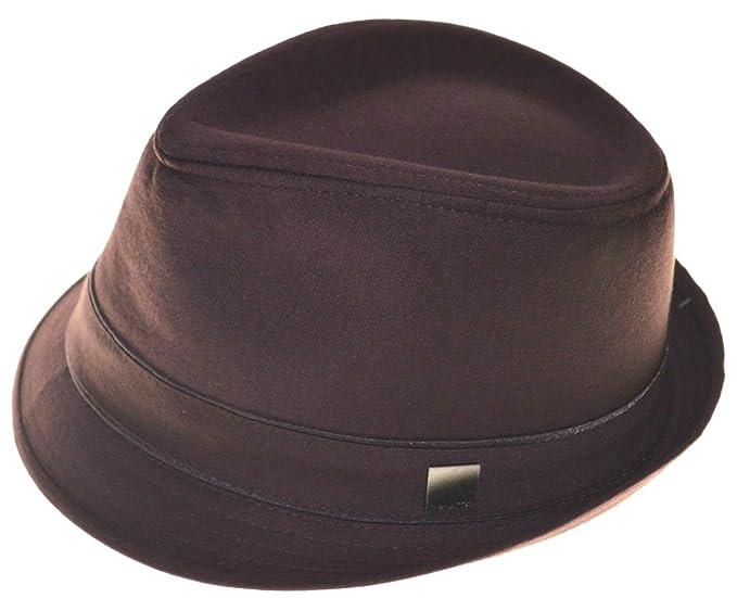 Amazon.com  Hatter Basic Demanded Fedora Hat Youth Size Cap-8~20-sm ... b768502d851