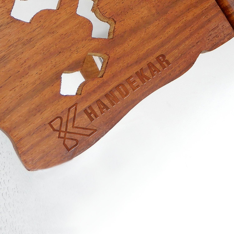Wooden Key Holder''Triple Elephant'' Design, Black Color Key Hangers, Wooden key holder, wall key holders, Key Hook, wall key hanger, Length - 13.5 Inch