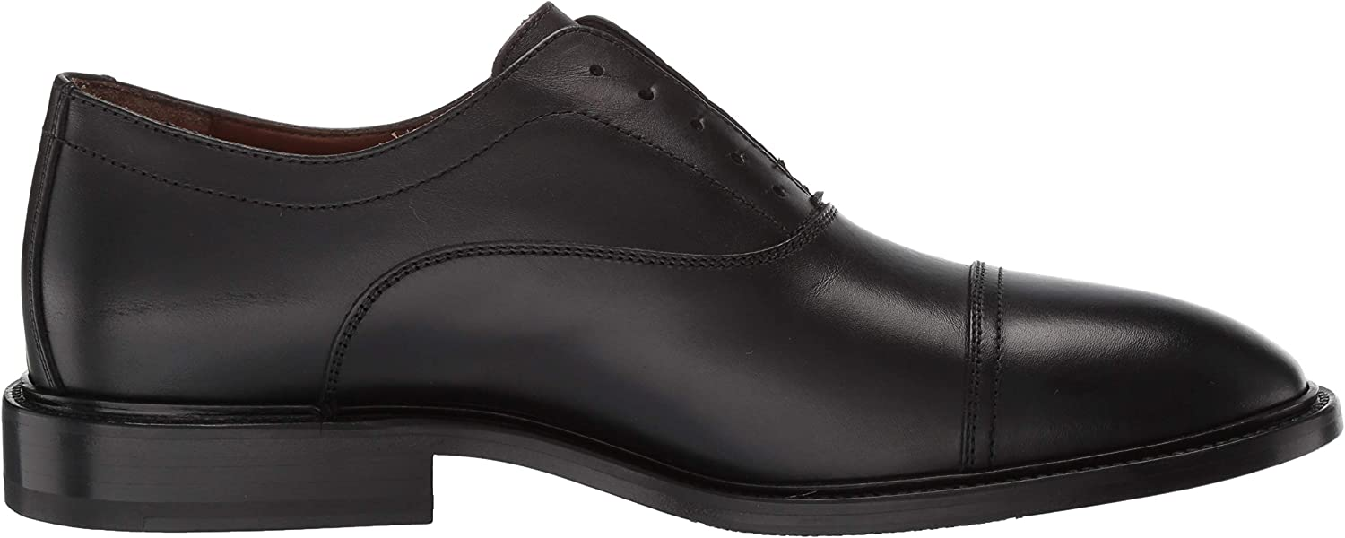 Aquatalia Men's Mattia Dress Calf Oxford Black