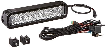 Infrared LED Light Bar - 20 IR LEDs - 60 Watts 750/850/ 940NM - Extreme Environment - 800'L X(-Spot-750nm-Black)