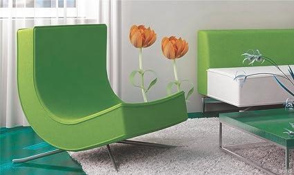 buy plage ms hearts of tulips pvc wall sticker 68 cm x 68 cm
