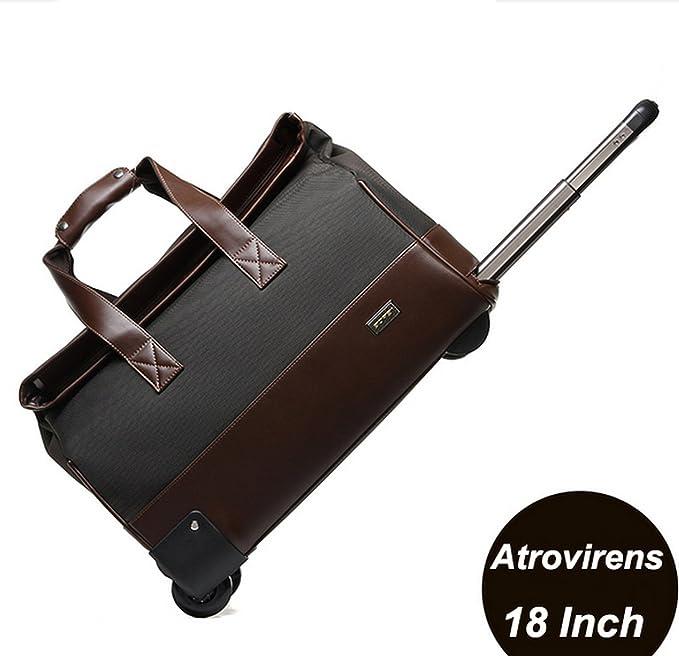 fba913df81 Unisex Trolley Travel Bags On wheels Waterproof Men s Trolley Luggage Travel  Duffle Bag