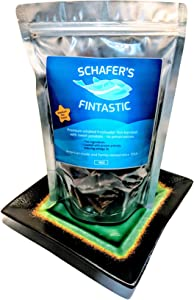 Schafer's Fintastic Fish Blended Pet Treats Dog Preservatives Free Sweet Potatoes Since 1955 - American Made
