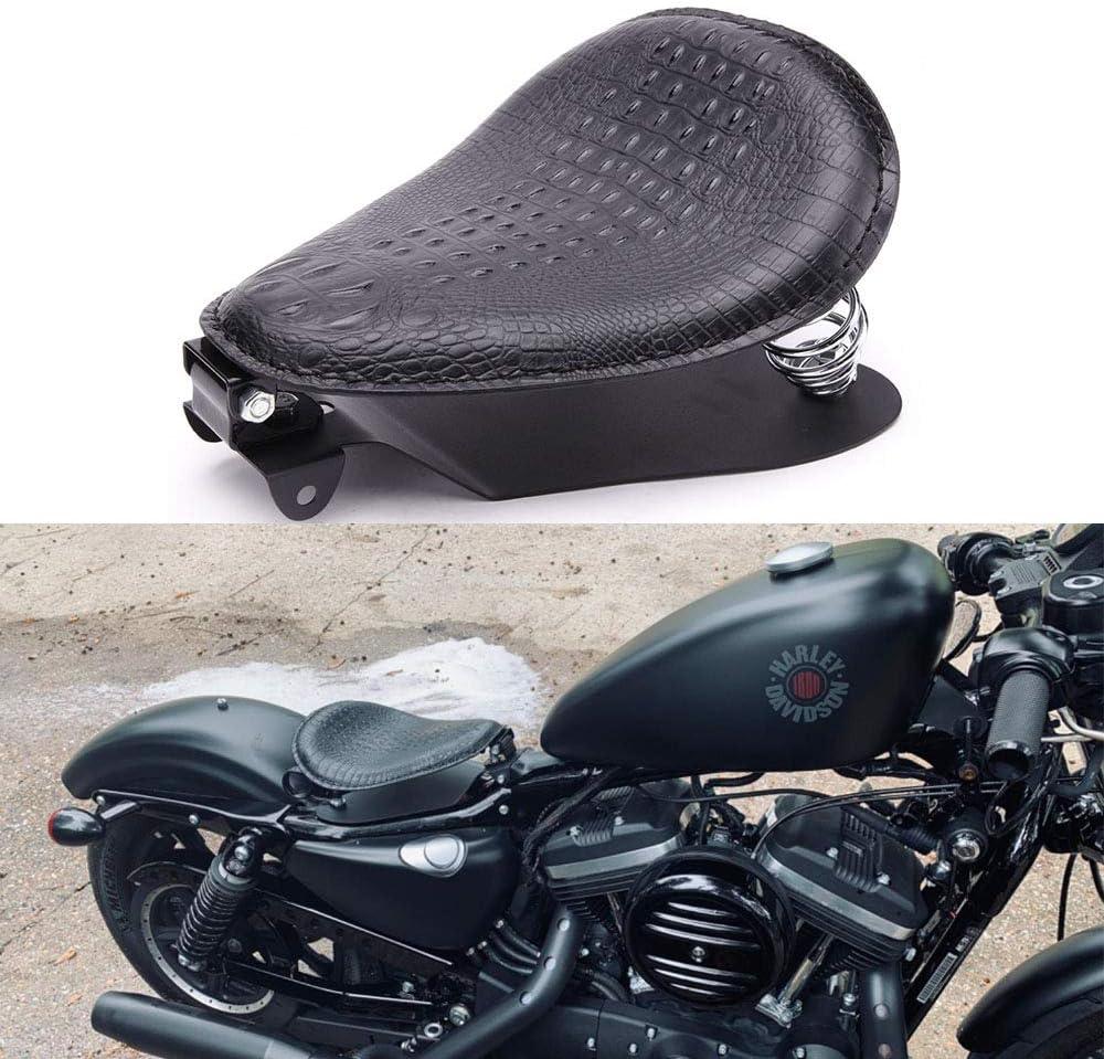 "Solo Seat 3/"" Springs Bracket Base Kit For Harley Sportster XL883 1200 in black"
