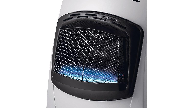 Delonghi VBF2 - Calefactor eléctrico, 4200 W, acero, negro/plata: Amazon.es: Hogar