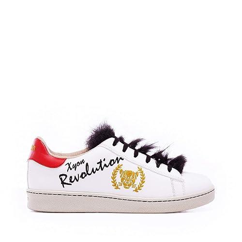 Xyon Revolution PUNKMONEY Sneakers Zapatilla Deportiva con Cordones Mujer: Amazon.es: Zapatos y complementos