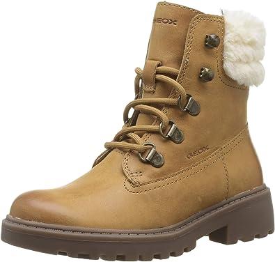 Geox J Casey Girl H, Botas Militar para Niñas: Amazon.es: Zapatos ...