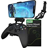 Xbox Series X Controller Mobile Gaming Clip, Xbox Controller Phone Mount Adjustable Phone Holder Clamp Compatible with Xbox S