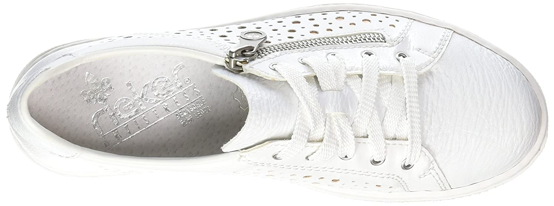 Rieker Damen M7928 M7928 Damen Sneaker Weiß (Weißs/Bianco/Bronze) b03fa5
