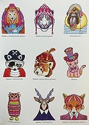 Amazon Customer Reviews Dapper Animals Coloring Book