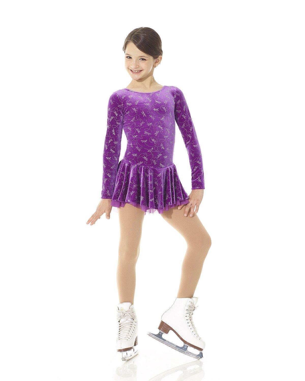 Mondor フィギュアスケートドレス 2747 トンボ  6X-7