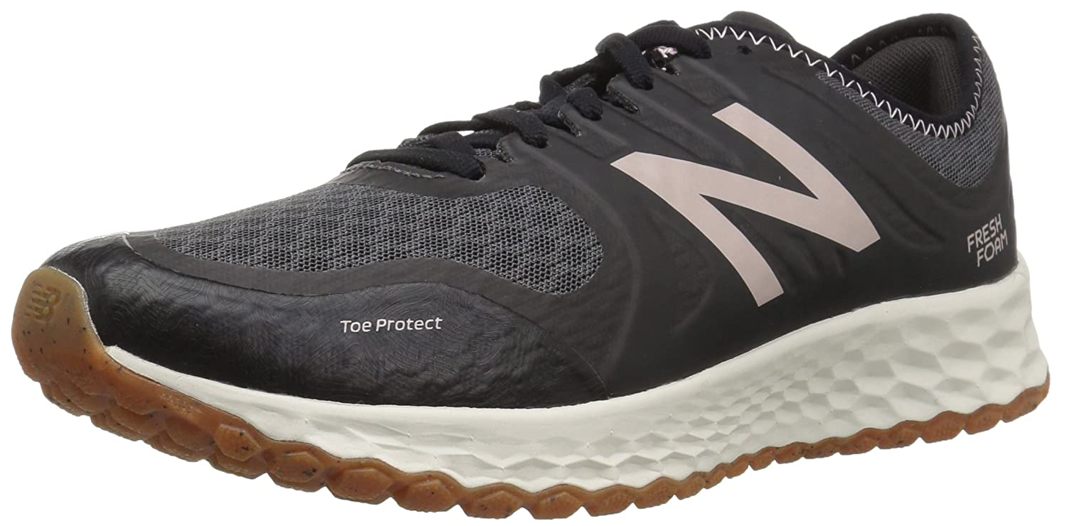 New Balance Women's Kaymin Trail v1 Fresh Foam Trail Running Shoe B0751SG74Z 10 D US|Black