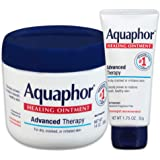 Aquaphor Healing Ointment - Variety Pack, Moisturizing Skin Protectant For Dry Cracked Hands, Heels and Elbows - 14 oz. jar +