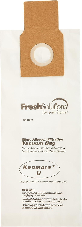 "Kenmore 70372 Kenmore 50688 ""Type U"" Upright Micro Filtration Vacuum Bags, 3-Pack"