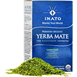 INATO | PREMIUM | Organic Yerba Mate | 1lb | Wild Grown | Air Dried | 100% Leaves | NO sticks, NO dust | Fresh | NEVER Aged | Single Producer