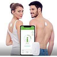 Upright GO® Posture Trainer and Corrector for Back | Strapless, Discrete, Easy to Use | Complete with App and Training Plan | Back Health Benefits and Confidence Builder | Improved Posture in No Time