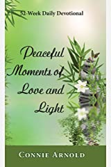 52-Week Daily Devotional - Peaceful Moments of Love and Light (Color Hardcover) Hardcover
