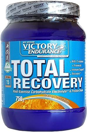 Victory Endurance Total Recovery. Completa la recuperación muscular después del entrenamiento. Enriquecido con electrolitos y vitaminas. Sabor Naranja ...