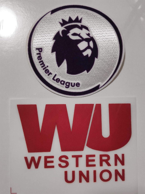 best badge Premier League Patches/& Liverpool 2019-2020 WESTERN UNION Sleeve Arm Sponsor