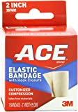 ACE Elastic Bandage with Hook Closure, 2 Inches (Pack of 2)
